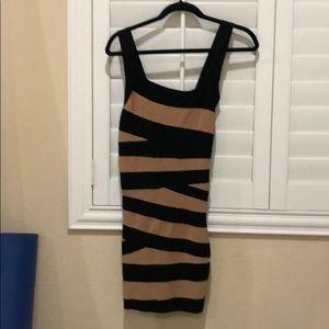 Bebe bodycon bandage dress